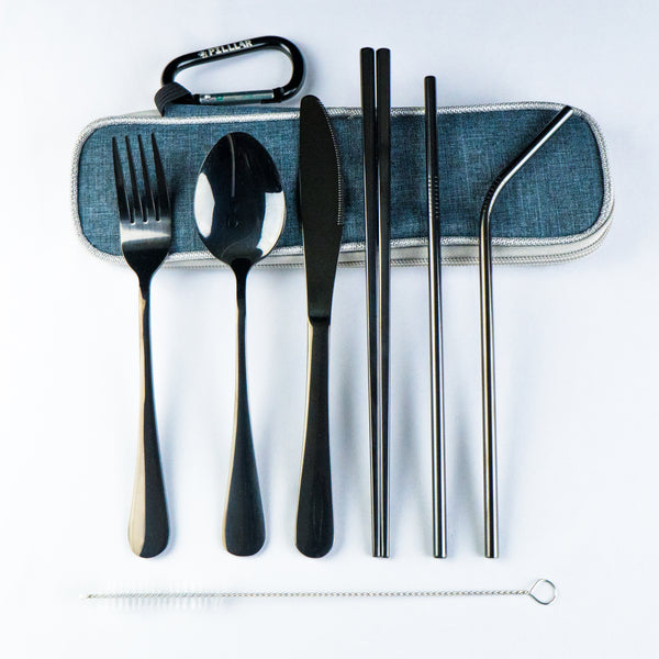 Reusable Stainless Steel Utensils - PILLLAR Skateboards
