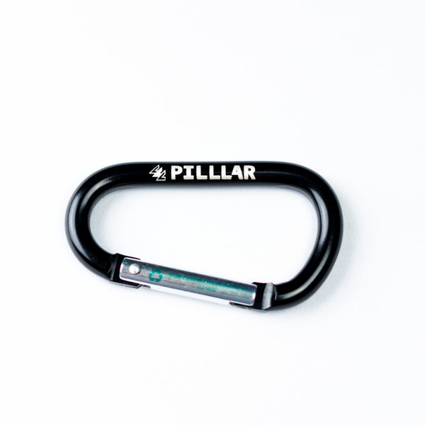 Creekview Recycled Steel Carabiner - PILLLAR Skateboards
