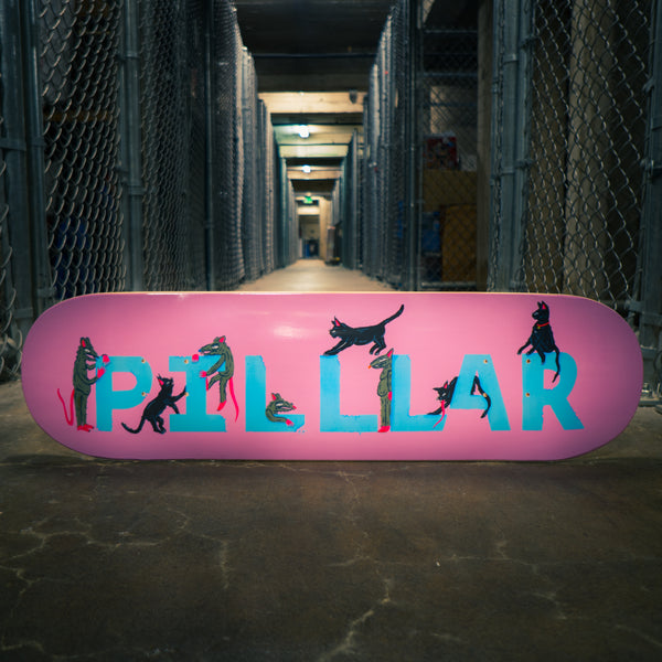 Cats and Rats - PILLLAR Skateboards