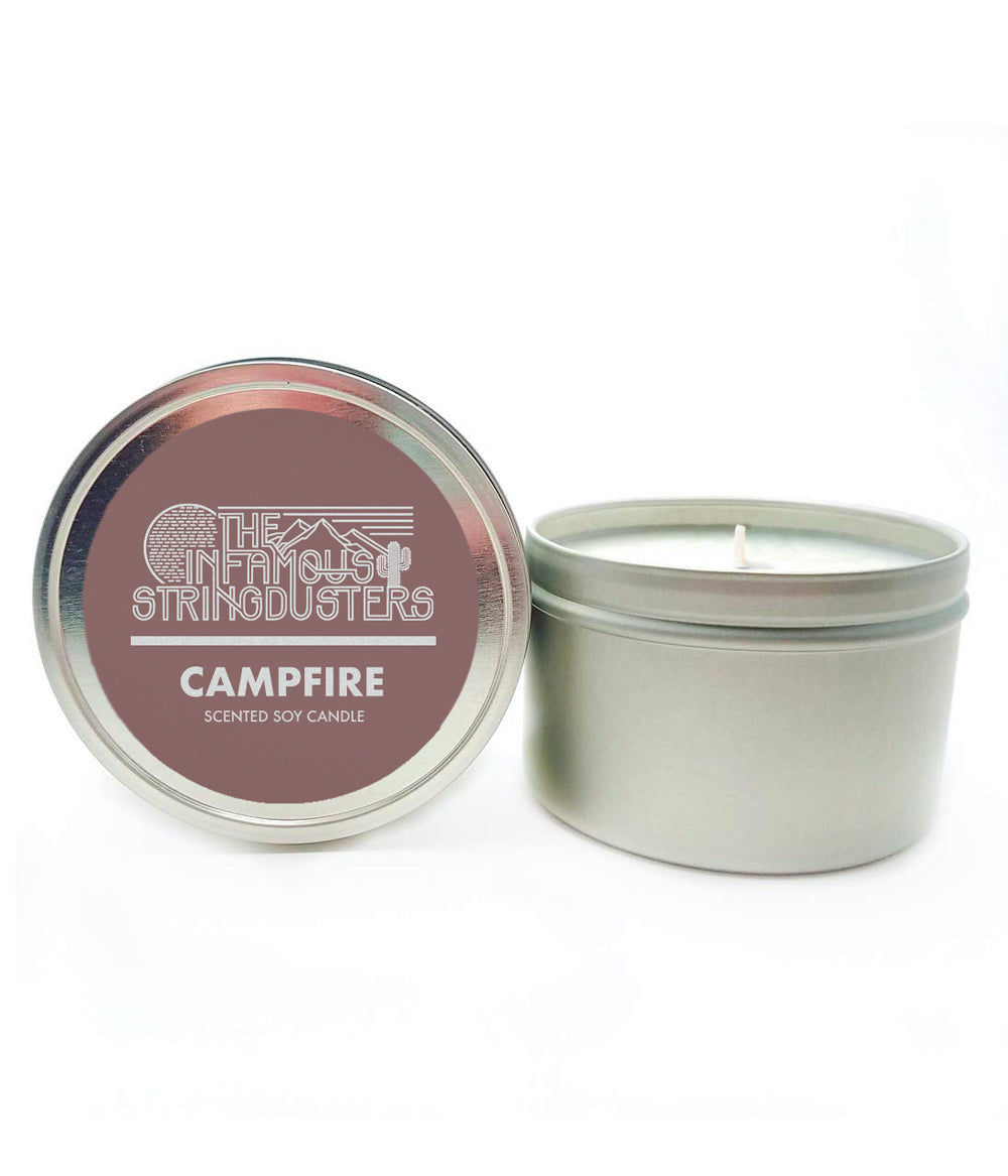 The Infamous Stringdusters Campfire Scented Candle