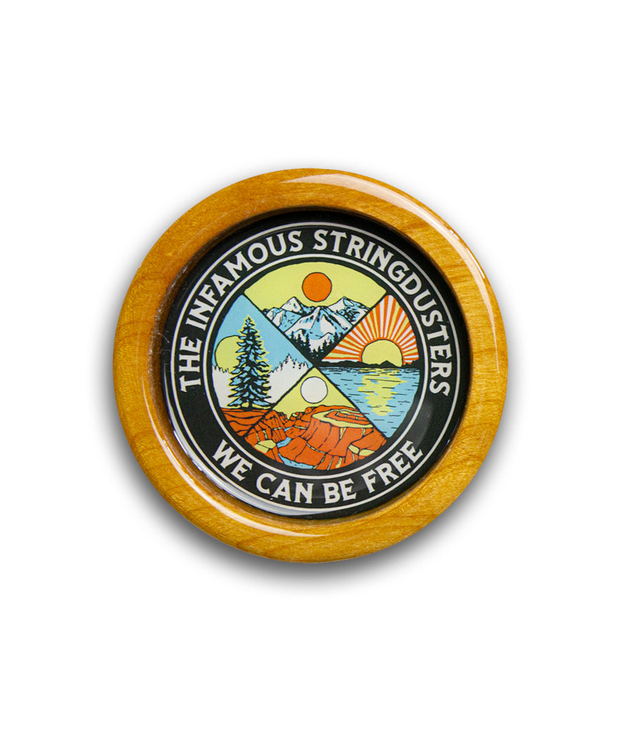 The Infamous Stringdusters We Can Be Free Coaster