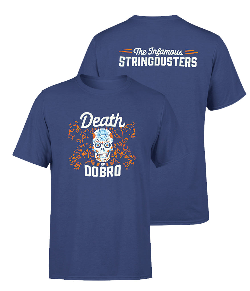 The Infamous Stringdusters Death By Dobro Shirt