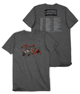 The Infamous Stringdusters Fall Tour Shirt 2015 Shirt