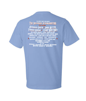 The Infamous Stringdusters The Feisty Experience Shirt