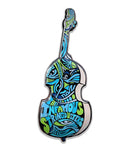 The Infamous Stringdusters Upright Bass Pin (Aquamarine - Ltd to 250)