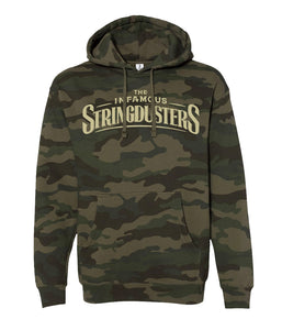 The Infamous Stringdusters Logo Camo Hooded Sweatshirt
