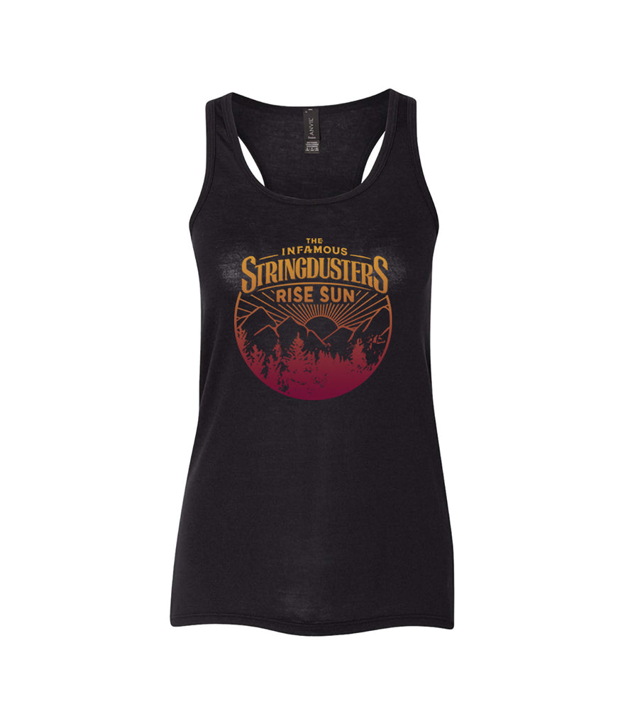 The Infamous Stringdusters Rise Sun Womens Tank Top