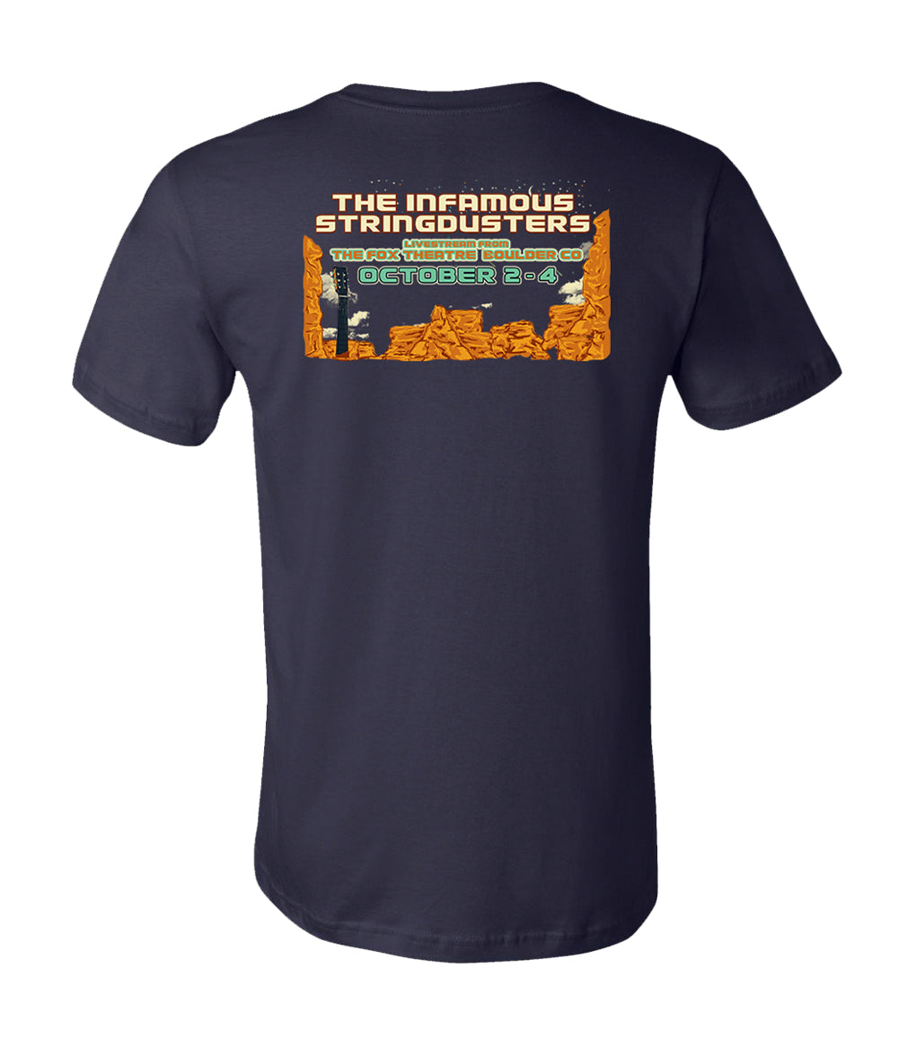 The Infamous Stringdusters Fox Theatre Livestream Shirt