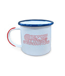 The Infamous Stringdusters Enamel Coffee Mug