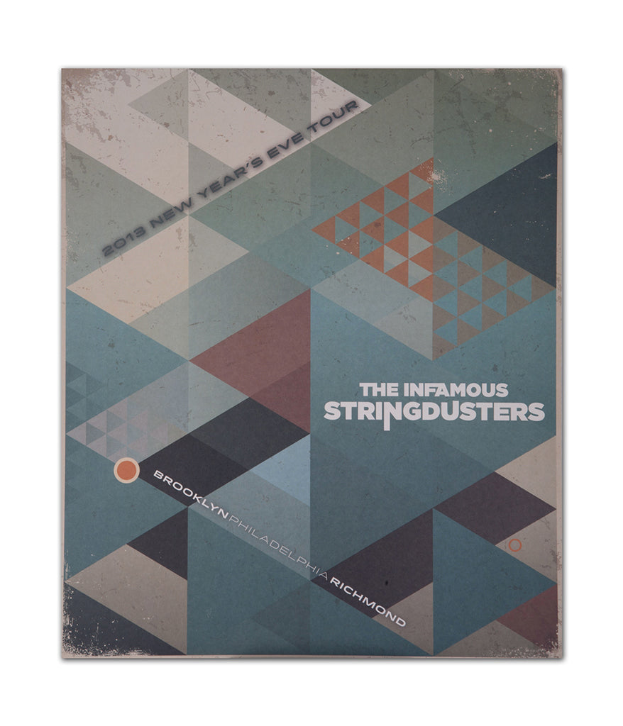 The Infamous Stringdusters NYE 2013 Tour Poster