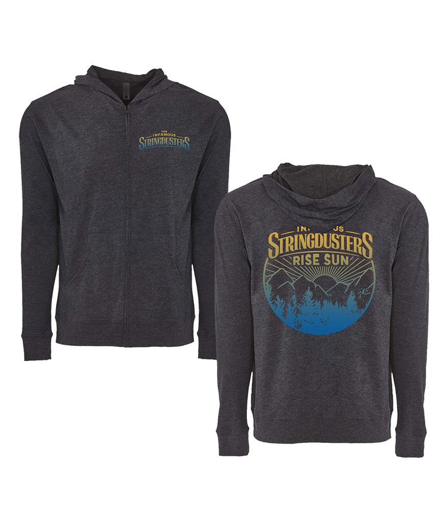 The Infamous Stringdusters Rise Sun Zip Hooded Sweatshirt