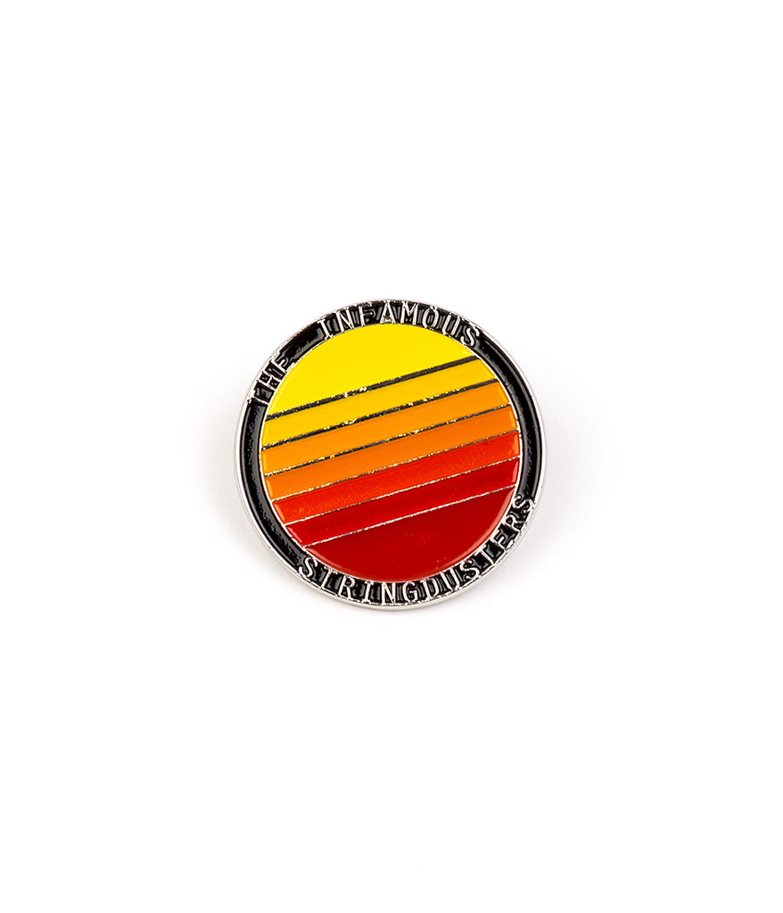 The Infamous Stringdusters Sunset Pin