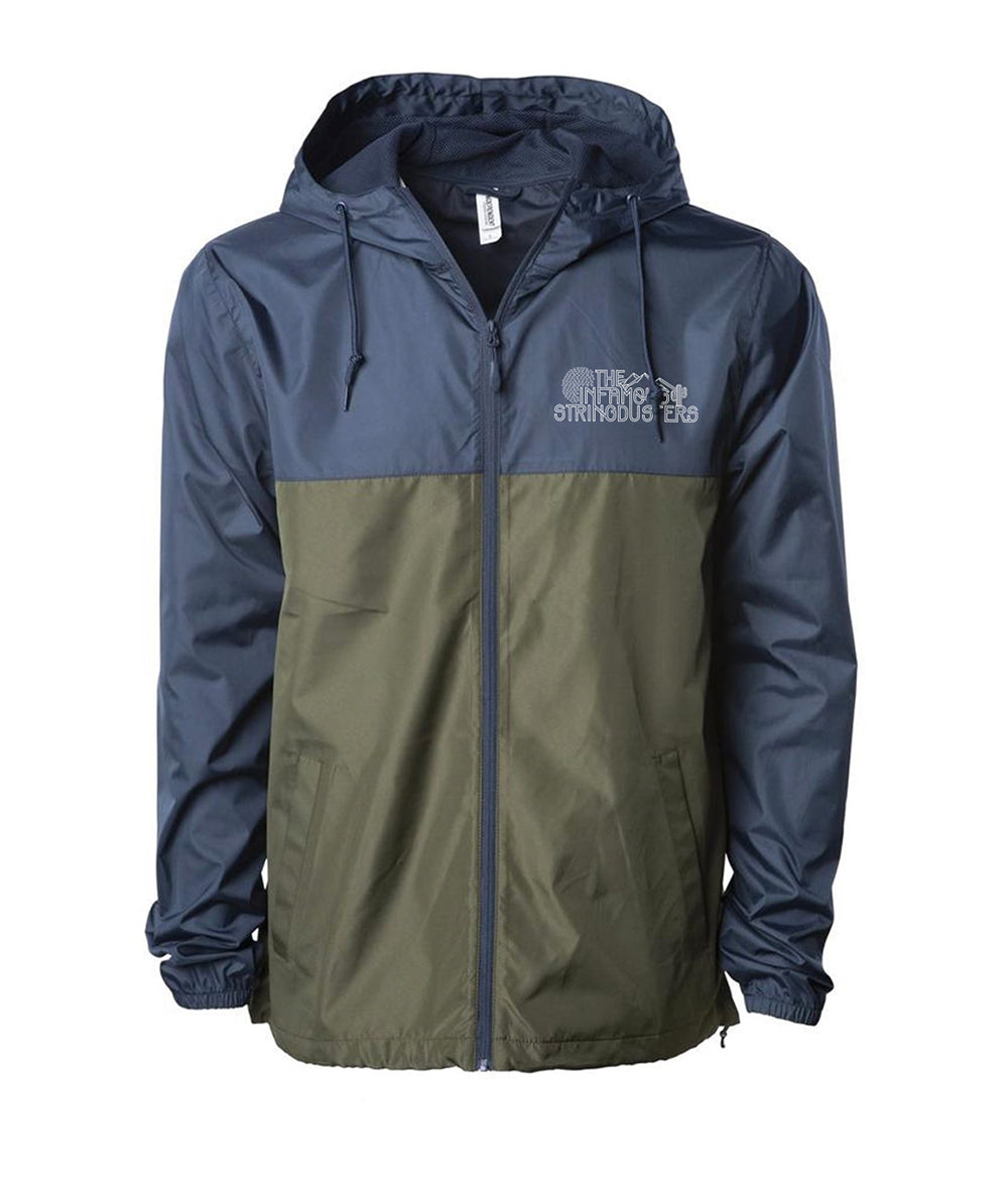 The Infamous Stringdusters Logo Windbreaker