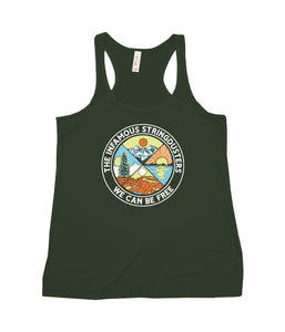 The Infamous Stringdusters We Can Be Free Womens Tank Top