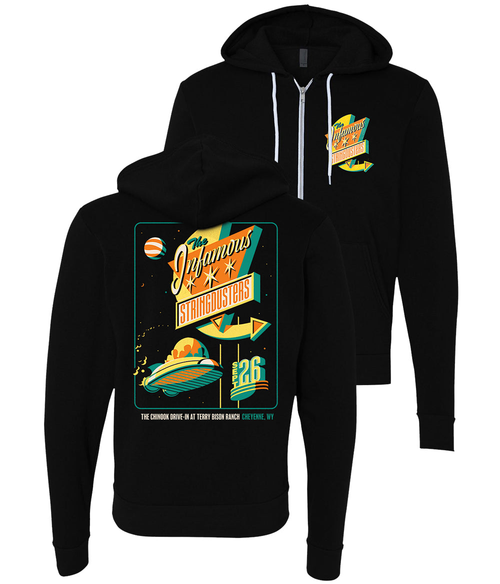 The Infamous Stringdusters Chinook Drive-In Zip Hood