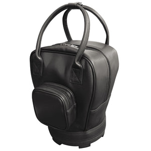 Leatherette Practice Ball Bag With Pocket
