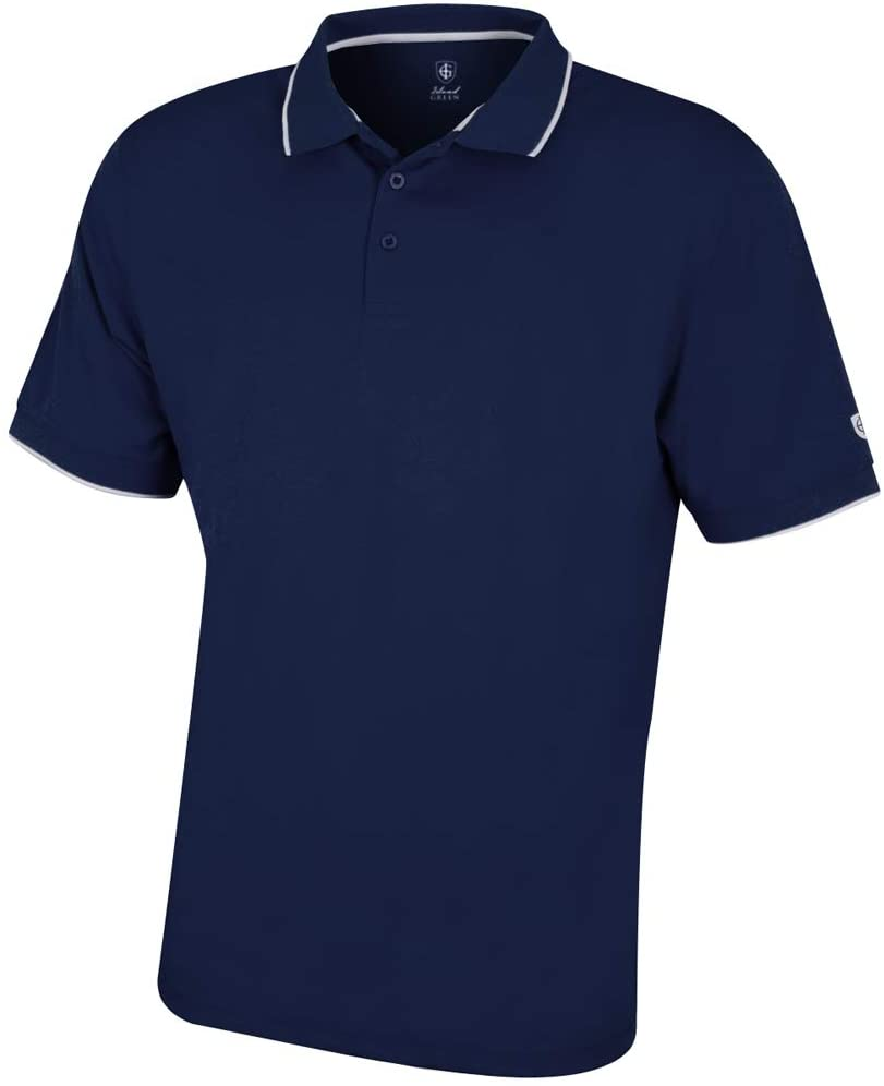 Men's Igts1899 Coolpass Breathable Wicking Performance Golf Polo Shirt