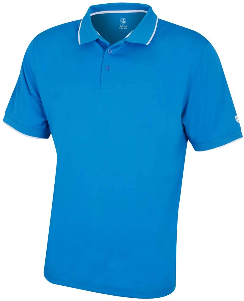 Men's Igts1899 Coolpass Breathable Wicking Performance Golf Polo