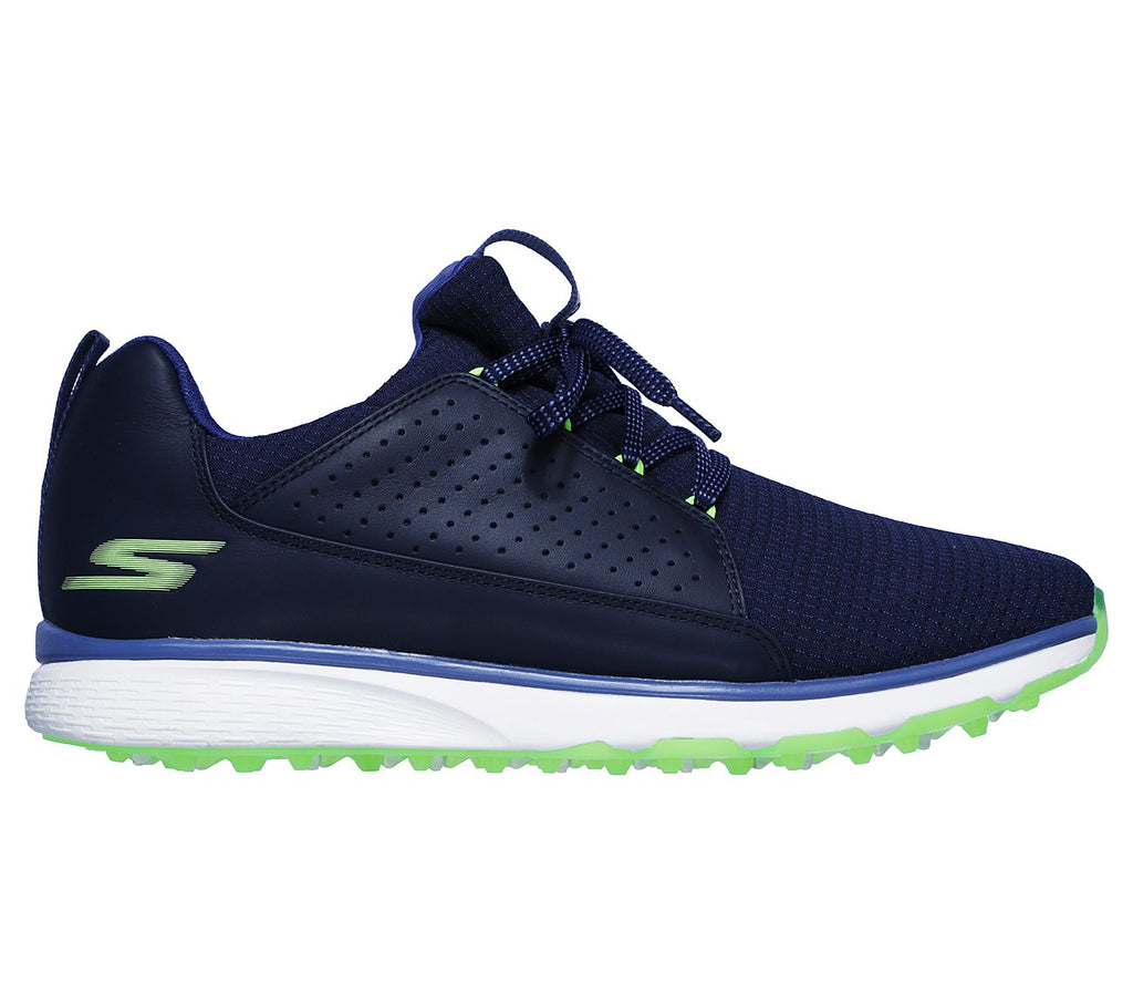 Mens Go Golf Mojo Elite Golf Shoes Navy/Lime