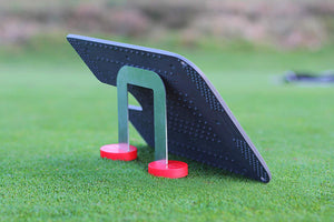 PuttOut Putting Mirror Trainer and Alignment Gate
