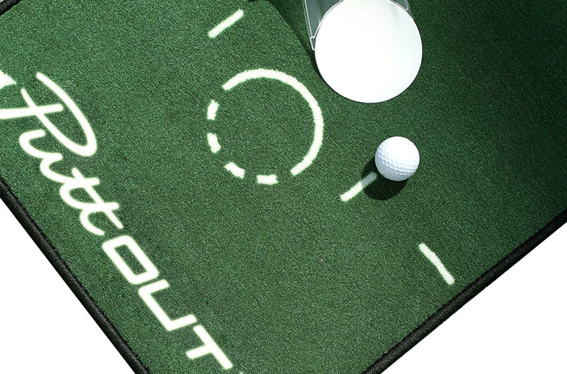 PuttOut Unisex's Pro Golf Putting Matt 240 x 50 cm