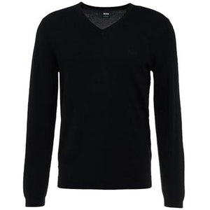 Hugo Boss Gents Vallum Merino Sweater Black