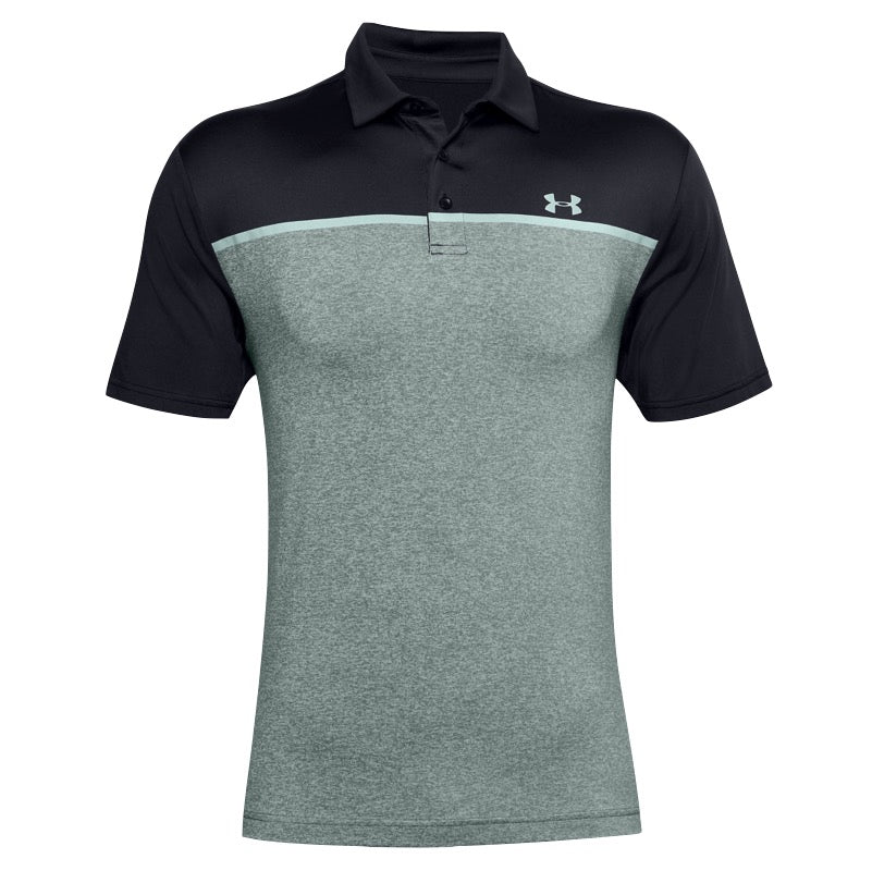 Under Armour Playoff 2.0 Edge Lit Stripe Golf Polo