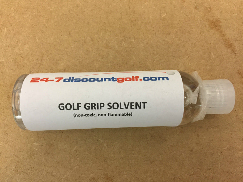 GOLF GRIP HF-100 SOLVENT/ACTIVATOR ODOURLESS (250ml/8oz)+ SQUIRT TOP
