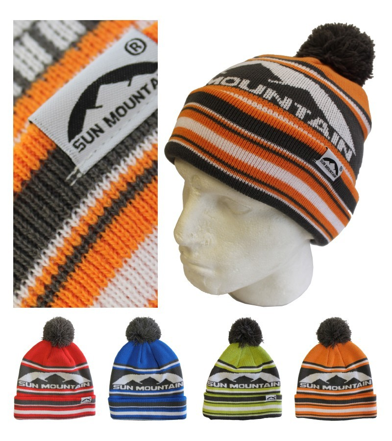 Sun Mountain Bobble Hats