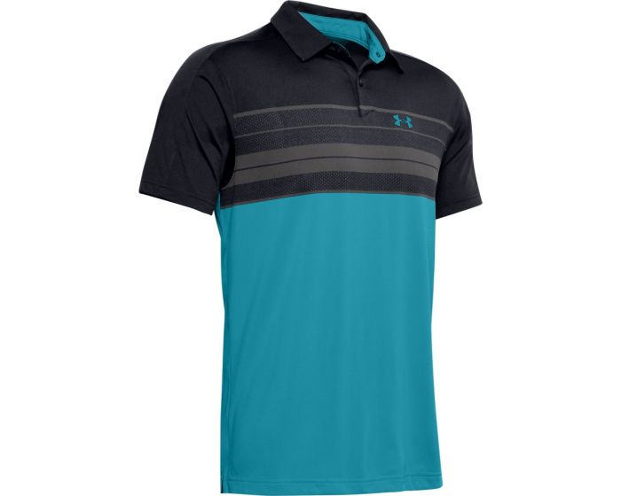 Under Armour Vanish Chest Stripe Golf Polo 1350972