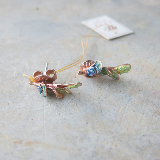 Ramification Earrings
