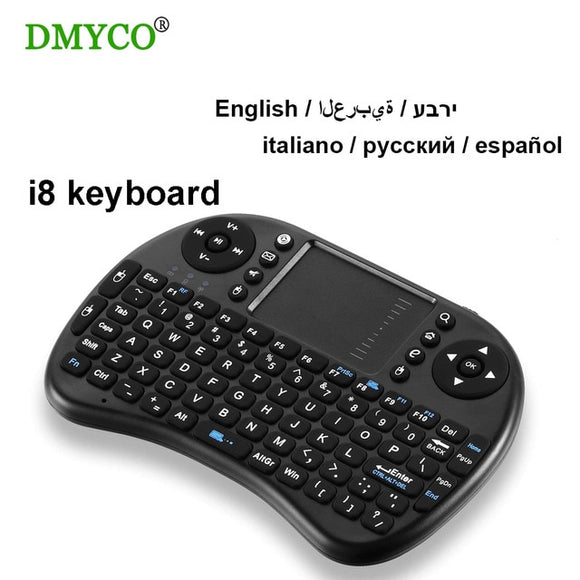Mini Wireless keyboard with Touchpad 2.4G Fly Air Mouse Combo Teclado for HDPC Win7 Pad for Xbox360 for PS3 for Andriod TV Box