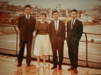 Harry and David Lee, Hong Kong, 1961