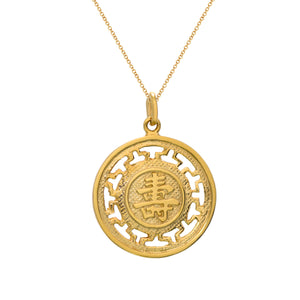 Gold Longevity Pendant