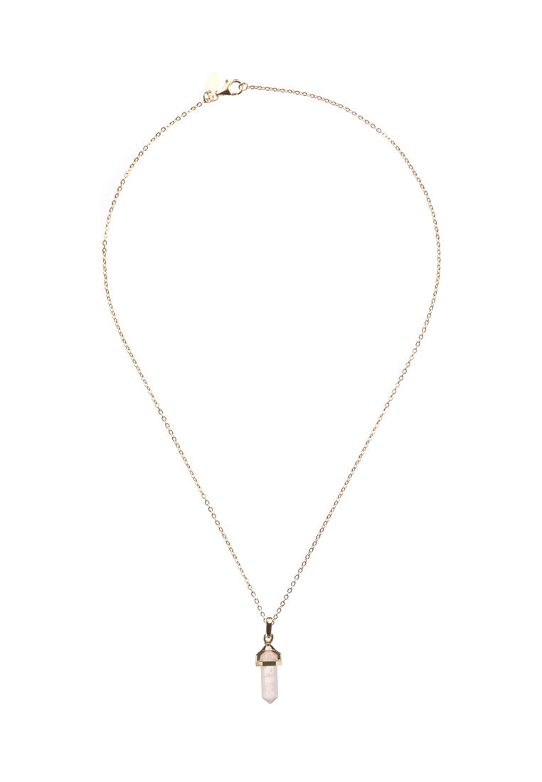 Kristelle Gold Rod Necklace - Antonia Y. Jewelry