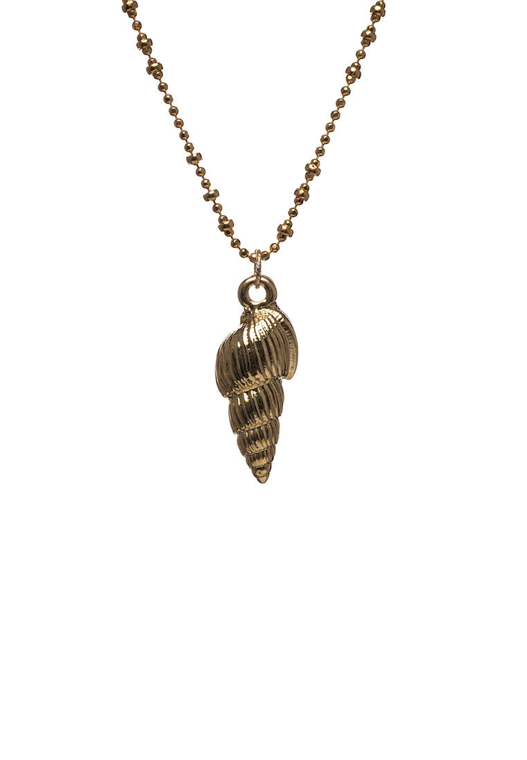 Harmony Gold Hornshell Necklace | Antonia Y. Jewelry