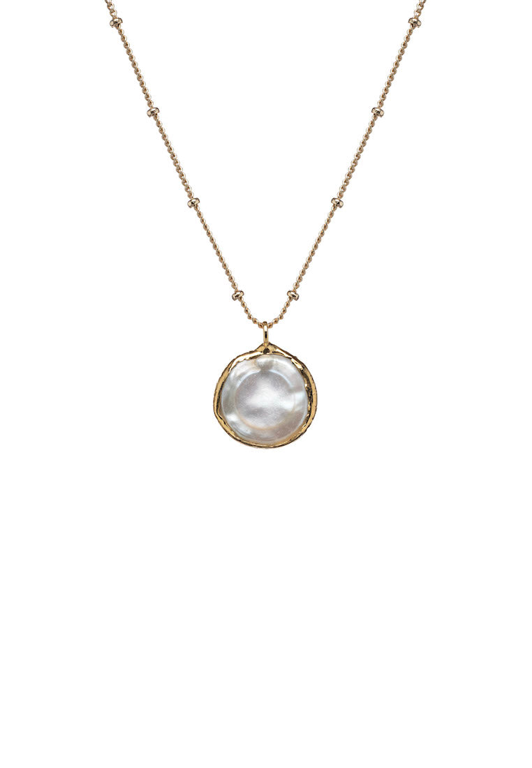 Liliana Dainty Pearl Necklace | Antonia Y. Jewelry