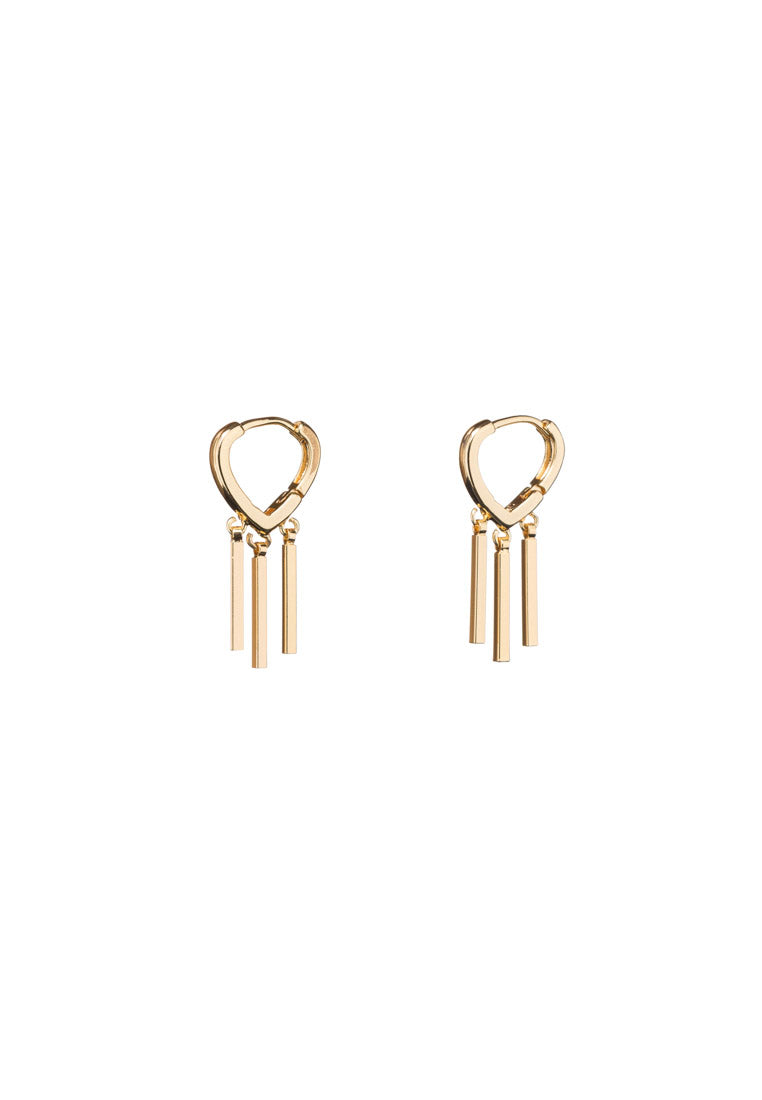 Mae Gold Hoops | Antonia Y. Jewelry