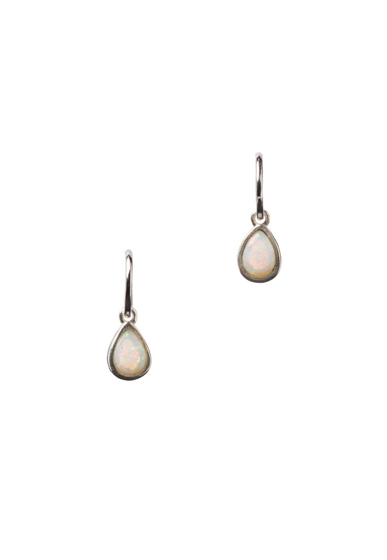 Australian Opal Teardrop Earrings - Antonia Y. Jewelry