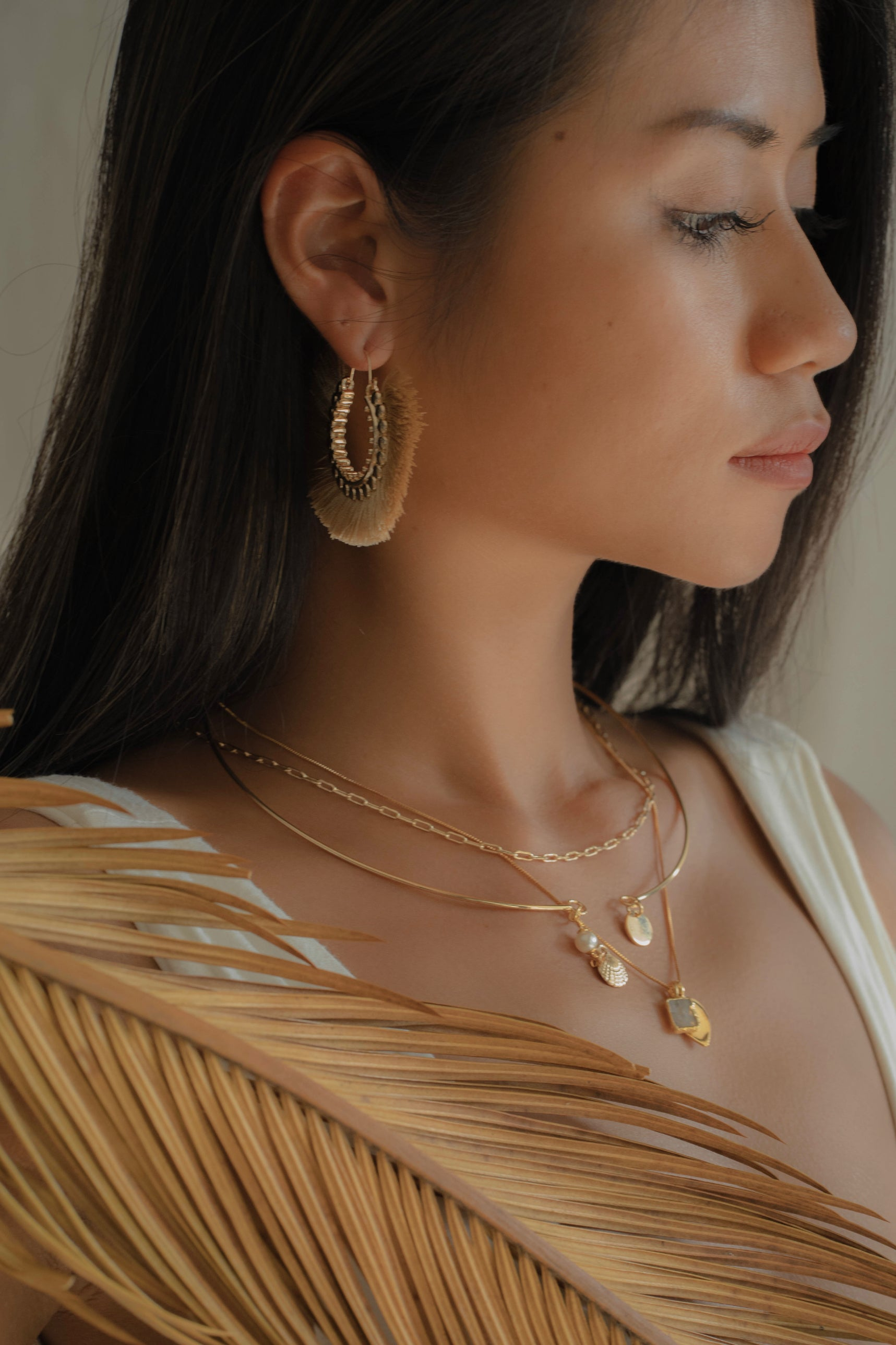 Brooke 14K Gold Filled Necklace | Antonia Y. Jewelry
