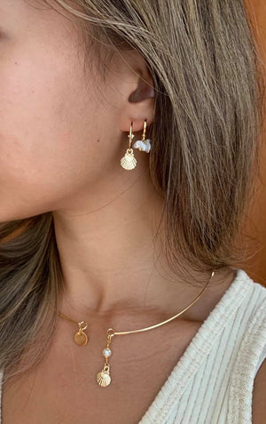 Kora Gold Filled Hoops | Antonia Y. Jewelry