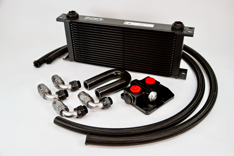 Mustang GT Oil cooler upgrade