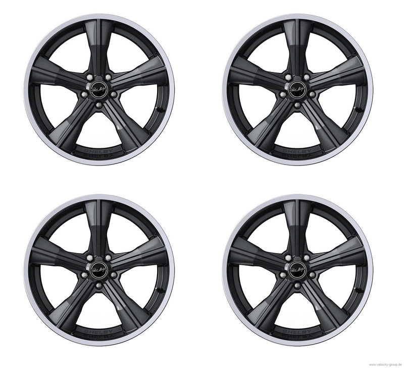 Wheel Set - Shelby CS11 - 9,5x20 inch und 11x20 inch - Gunmetal