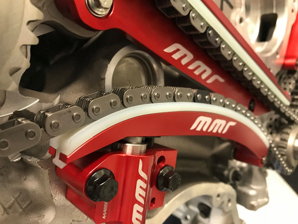 MMR Coyote Billet Chain Guides / Arms Kit for Mustang 2011-19