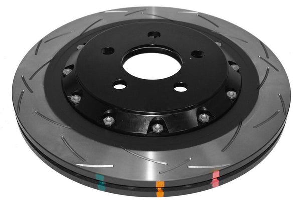 DBA S550 MUSTANG GT SLOTTED TWO PIECE BRAKE DISCS - rear