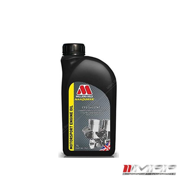 MILLERS OILS NANODRIVE CFS 5W-40 NT+ FULLY SYNTHETIC ENGINE OIL 1 LITRE