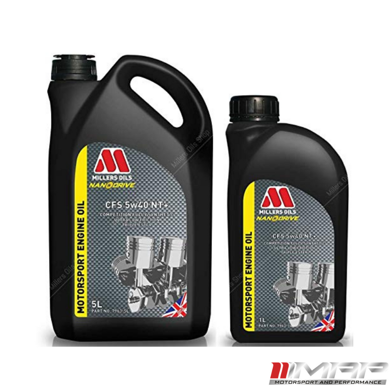 Millers Oils NANODRIVE CFS 5w-40 NT+ Fully Synthetic Engine Oil 6 Litre