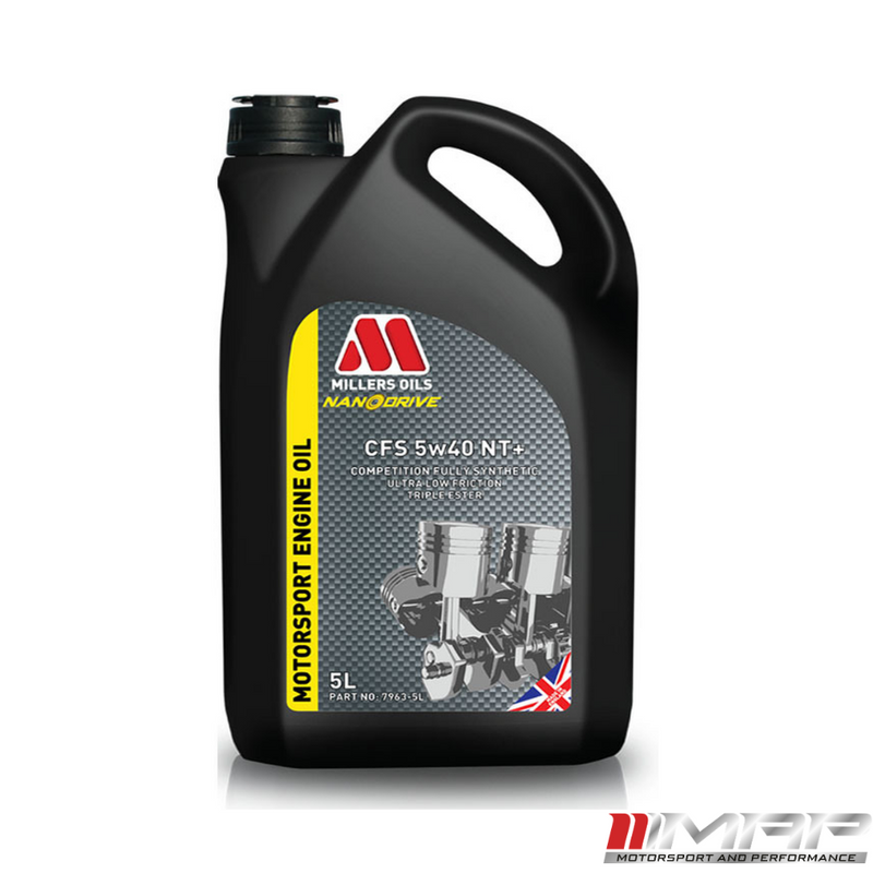 Millers Oils NANODRIVE CFS 5w-40 NT+ Fully Synthetic Engine Oil 5 Litre