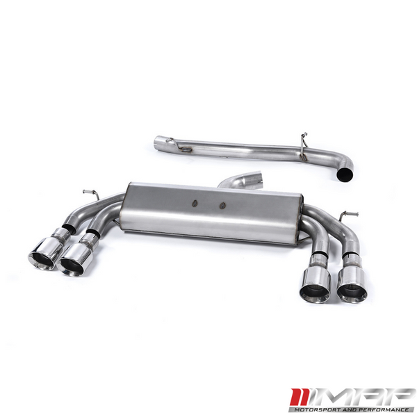 Milltek Cat Back Exhaust – Audi S3 (8V) 3dr (Non Valved)
