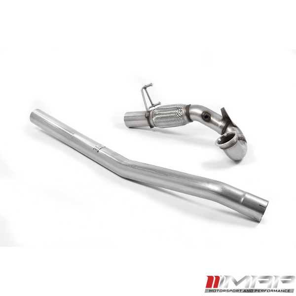 Milltek High Flow Downpipe – Audi S3 (8V)